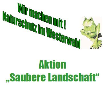 Saubere Flur in Giesenhausen und Kroppach – gemeinsame Aktion Saubere Landschaft 2019